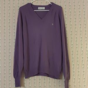 Christian Dior Purple Knit Sweater